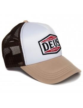 DEUS American Twin Trucker cap - Beige