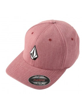 Volcom Full stone flexfit hat XFIT Crimson
