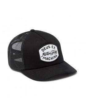 DEUS Vrod Trucker cap - Black