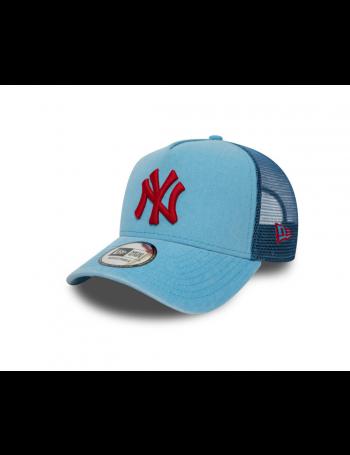 New Era Washed Trucker cap NY New York Yankees - Blue