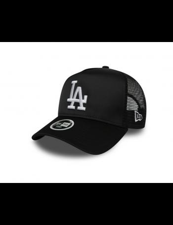 New Era MLB Satin Women's Trucker cap LA Dodgers