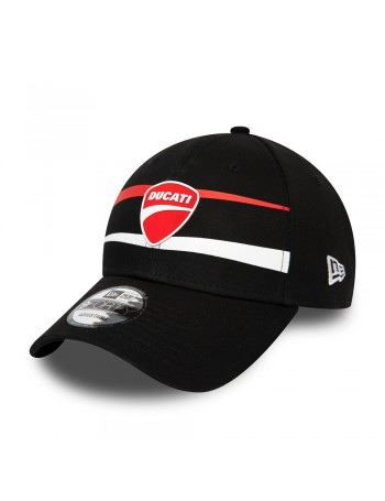 New Era 9Forty Curved cap (940) Ducati Stripe - Black