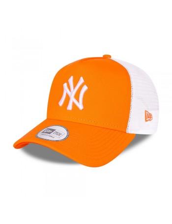 New Era Tonal Mesh Trucker cap NY Yankees - Fluor Orange