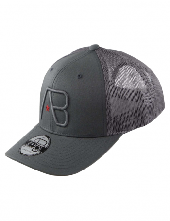 AB cap Retro Trucker - old iron grey