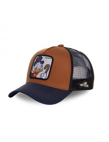 Capslab - Picsou Trucker cap - Brown