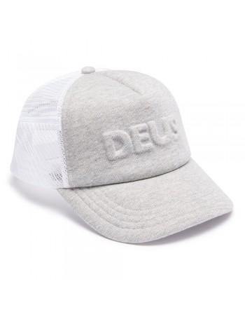 DEUS Pet Trucker Capital Letters- grey marle