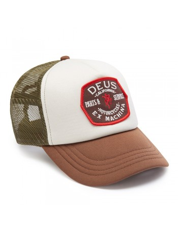 DEUS Pet Trucker Quebec - brown