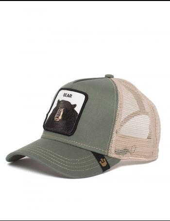 Goorin Bros. Black Bear Trucker cap - Olive