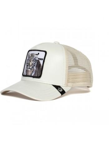 Goorin Bros. Killer Tiger Trucker cap - White