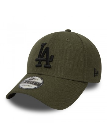 New Era 9Forty Heather Essential (940) LA Dodgers - Green