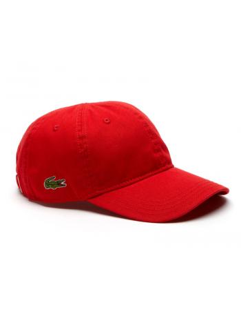 Lacoste pet - Gabardine cap - rouge red