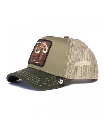 Goorin Bros. Wooly Mammoth Trucker cap - Olive