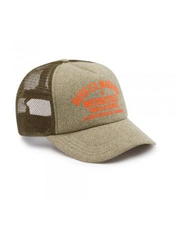 DEUS Marle Canggu Trucker Cap - Bark
