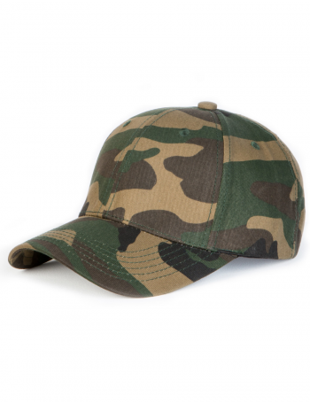 NVLTY London Essential Curved cap - camo