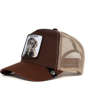 Goorin Bros. KIDS Puppy Dog Eyes Trucker Cap - Brown