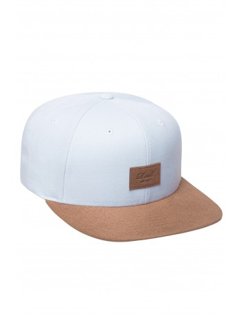 Reell 6 panel Suede cap snapback Light Blue