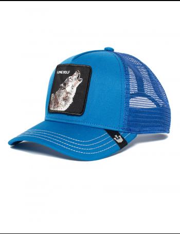 Goorin Bros. Wolf Trucker cap - Blue